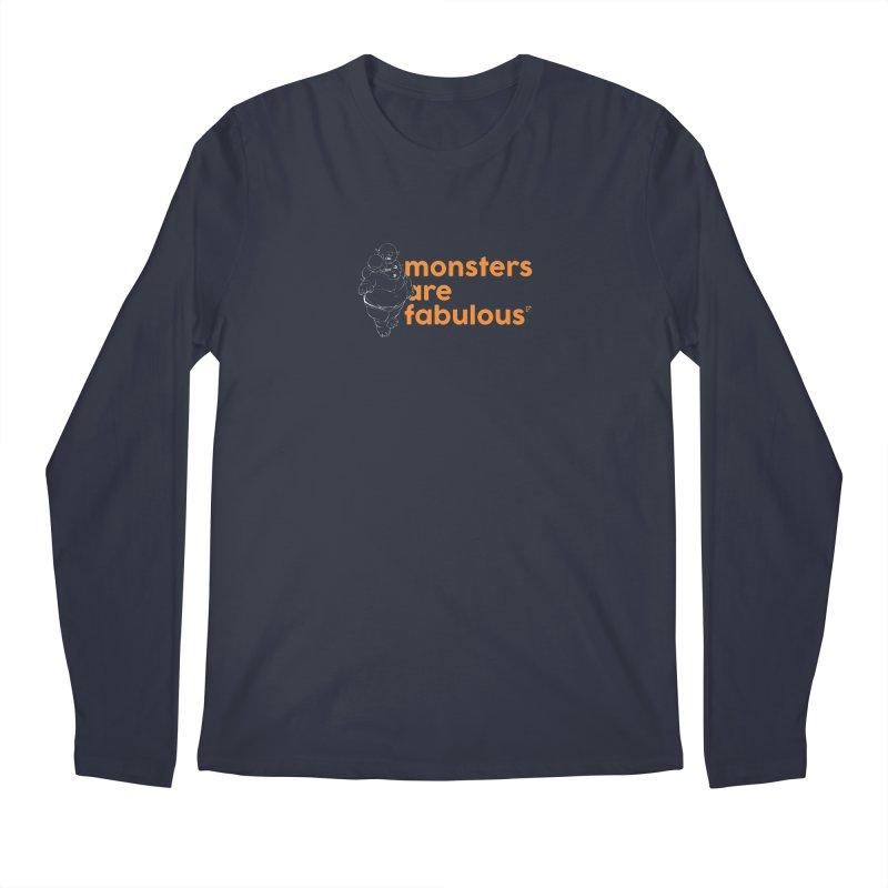 Monsters are fabulous. Men's Longsleeve T-Shirt by Funked