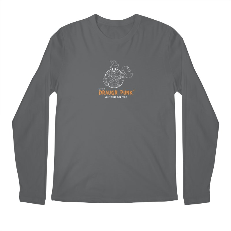 Level 1 Draugr Punk Men's Longsleeve T-Shirt by Funked