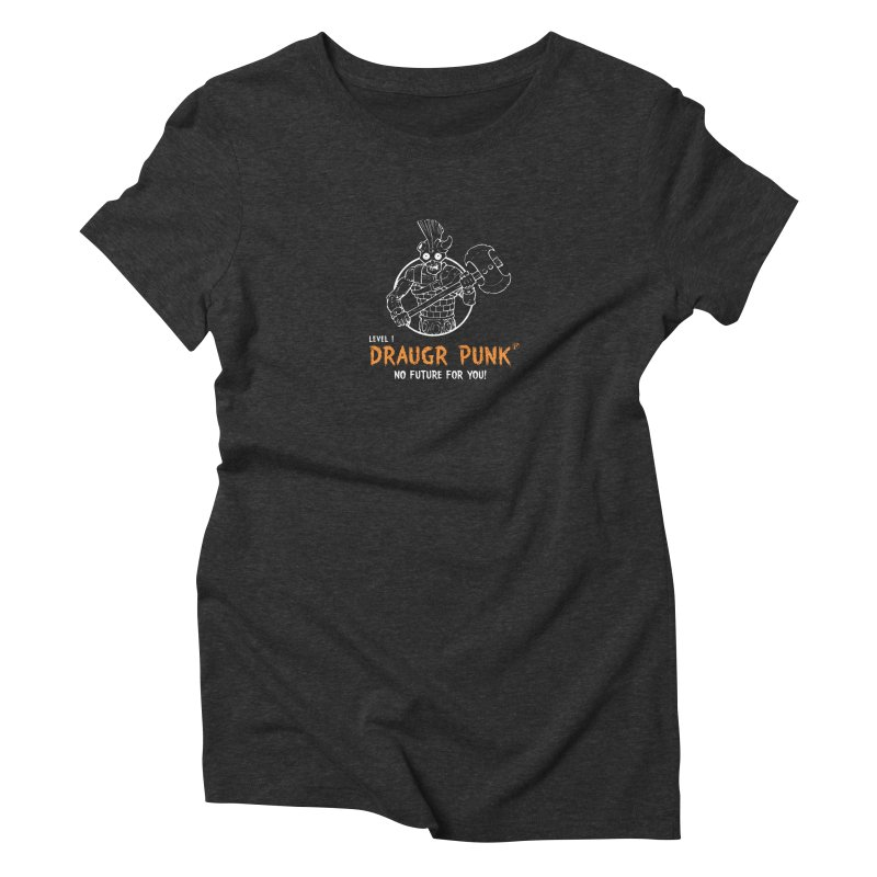 Level 1 Draugr Punk Women's Triblend T-Shirt by Funked