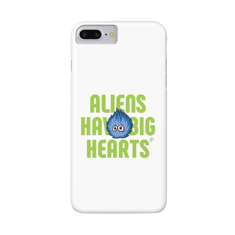 Aliens have big hearts. Accessories Phone Case by Funked