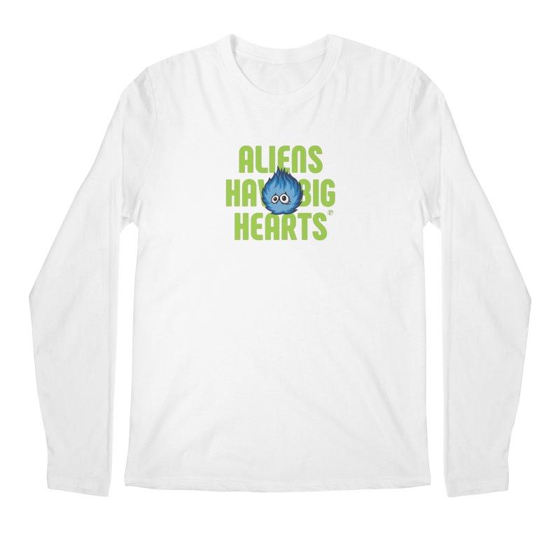 Aliens have big hearts. Men's Longsleeve T-Shirt by Funked