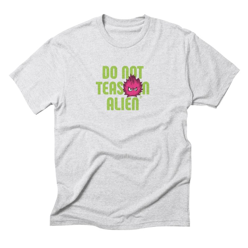Do not tease an alien. Men's T-Shirt by Funked