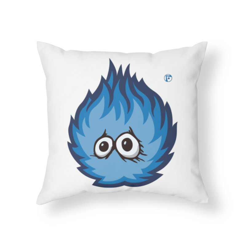 From a Gug's point-of-view. Home Throw Pillow by Funked