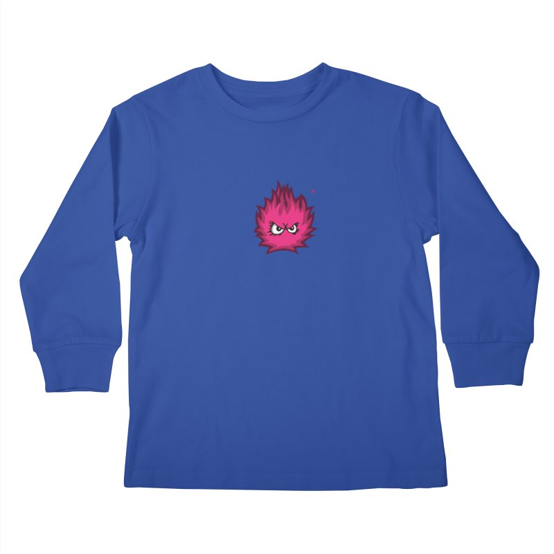 From a Grunt's point-of-view. Kids Longsleeve T-Shirt by Funked