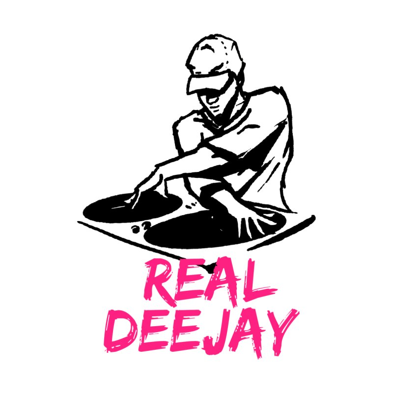 Real Deejay Men's T-Shirt by funkitshirt