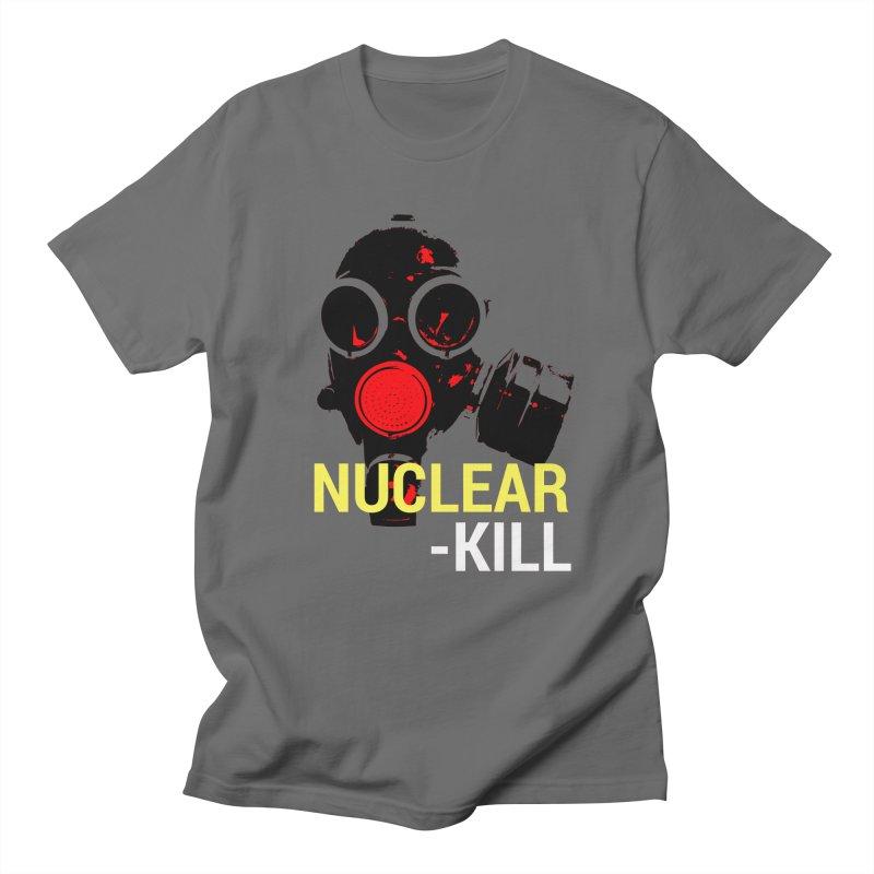 Nuclear kill in Men's Regular T-Shirt Asphalt by funkitshirt