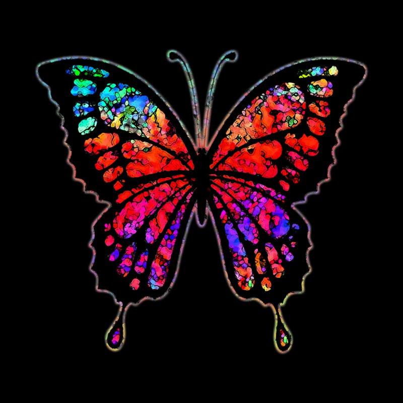 Psychedelic Butterfly by funkymojo's Artist Shop