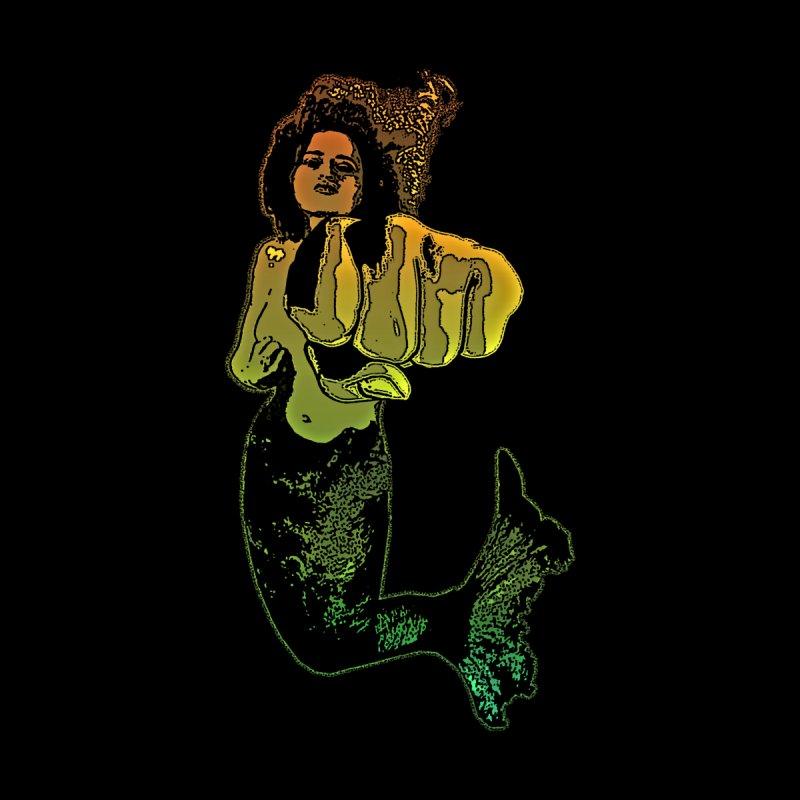 Punching Mermaid by funkymojo's Artist Shop