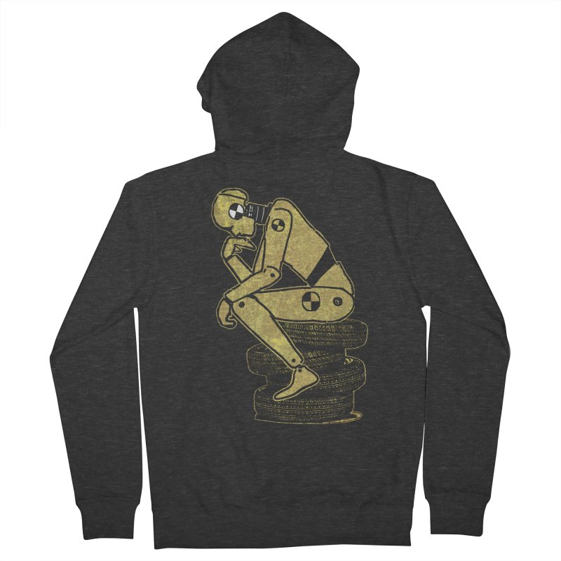 Existential Conundrum Women's Zip-Up Hoody by funkymojo's Artist Shop