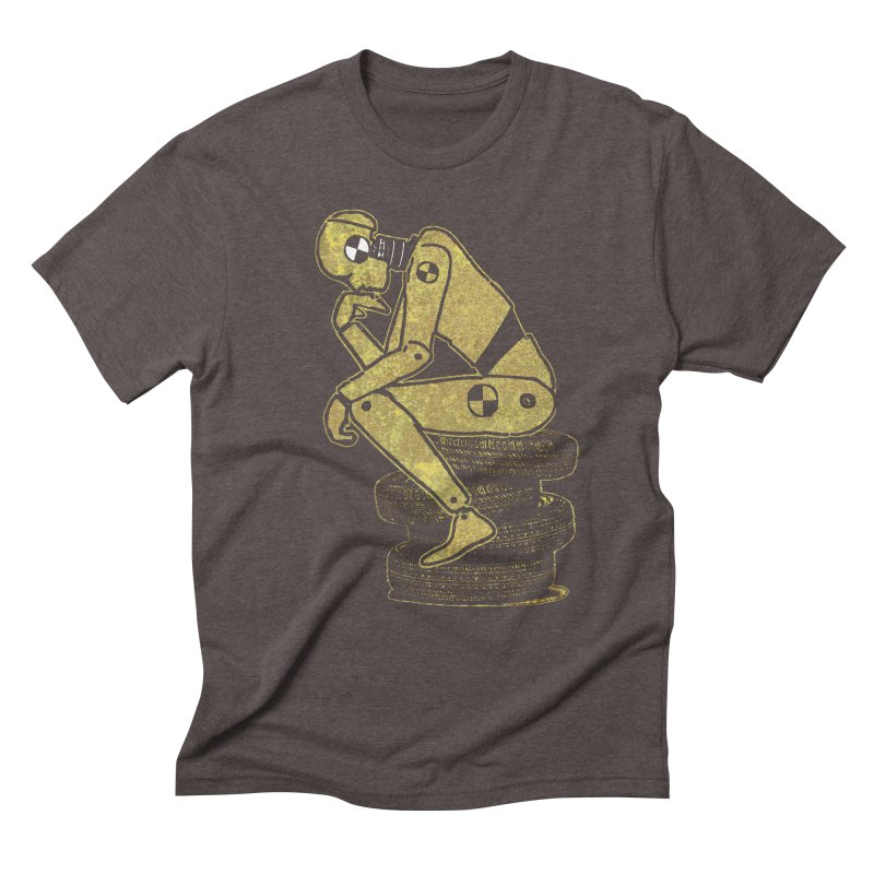 Existential Conundrum Men's Triblend T-Shirt by funkymojo's Artist Shop