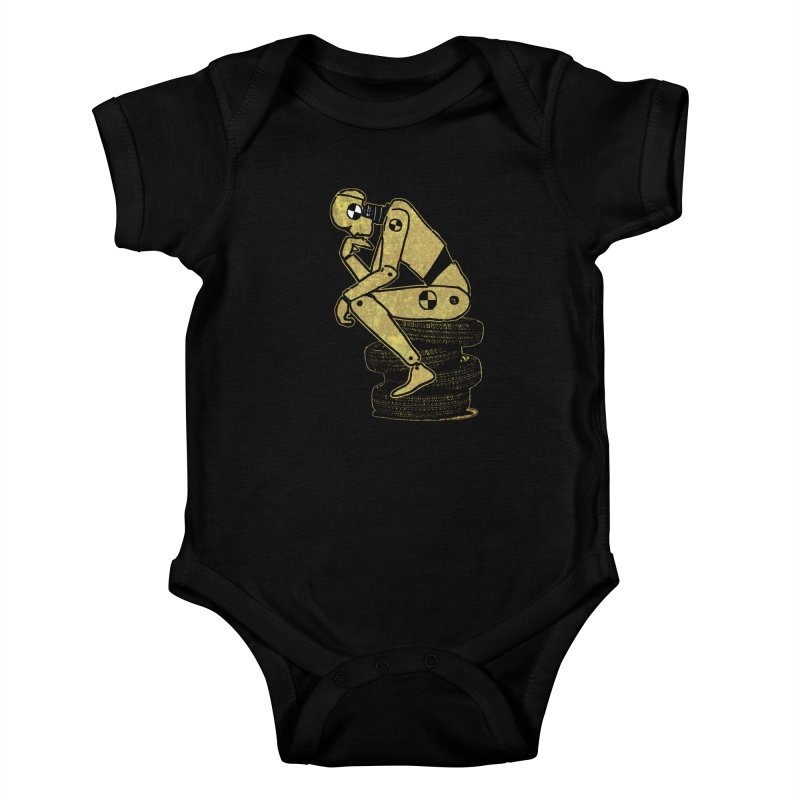 Existential Conundrum Kids Baby Bodysuit by funkymojo's Artist Shop