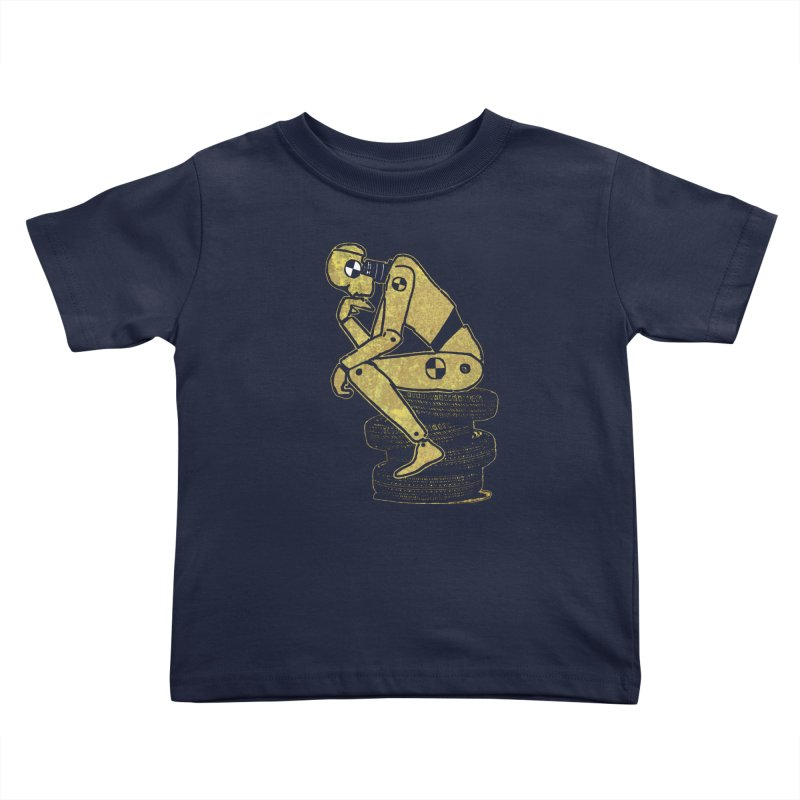 Existential Conundrum Kids Toddler T-Shirt by funkymojo's Artist Shop