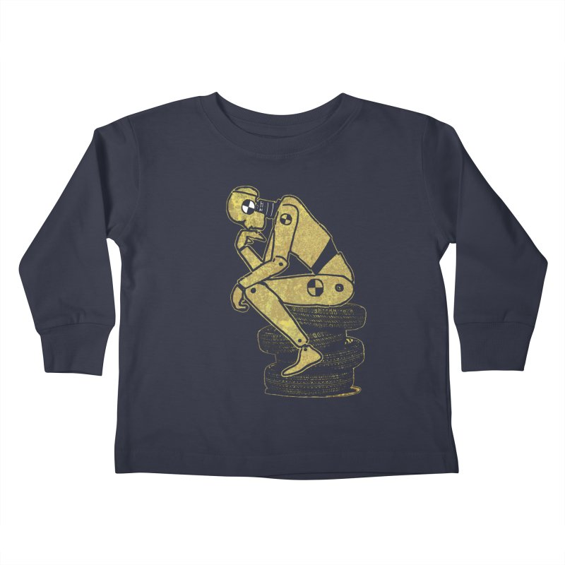 Existential Conundrum Kids Toddler Longsleeve T-Shirt by funkymojo's Artist Shop