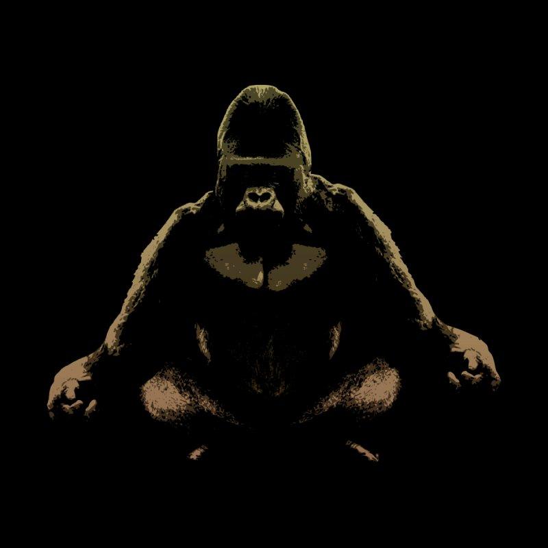 Ape Meditating by funkymojo's Artist Shop