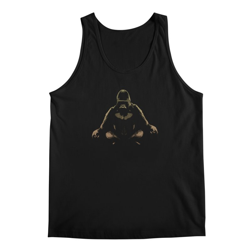 Ape Meditating Men's Tank by funkymojo's Artist Shop