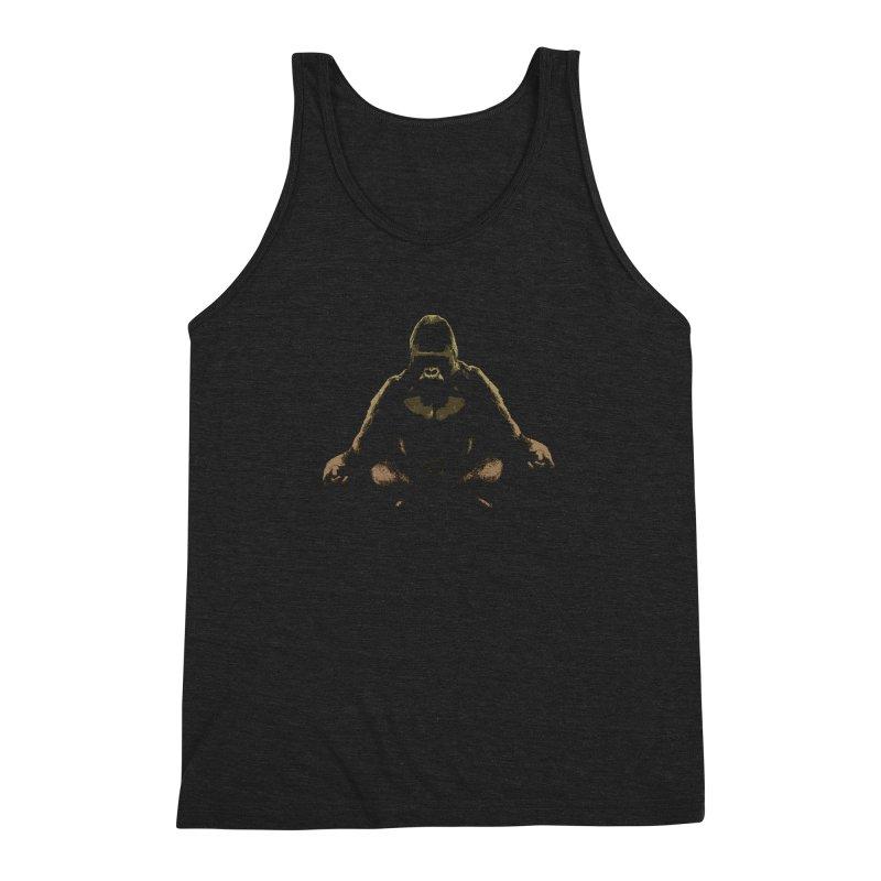 Ape Meditating Men's Triblend Tank by funkymojo's Artist Shop