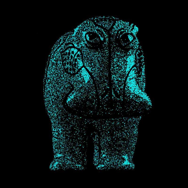 Blue Hippo by funkymojo's Artist Shop