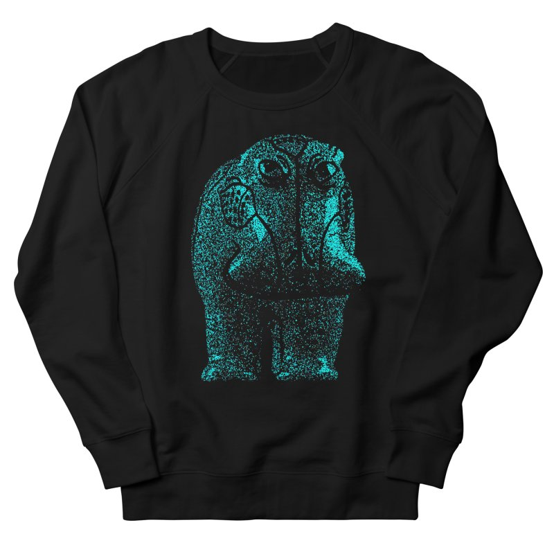 Blue Hippo Women's Sweatshirt by funkymojo's Artist Shop