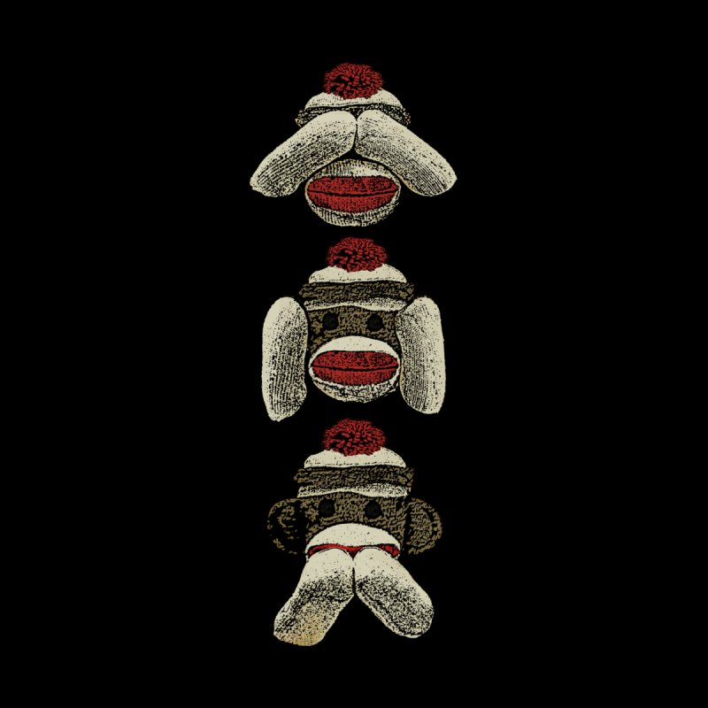 Three Wise Sock Monkeys by funkymojo's Artist Shop