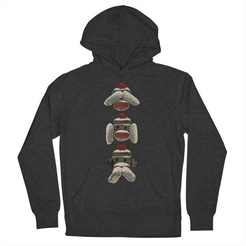 Three Wise Sock Monkeys Women's Pullover Hoody by funkymojo's Artist Shop
