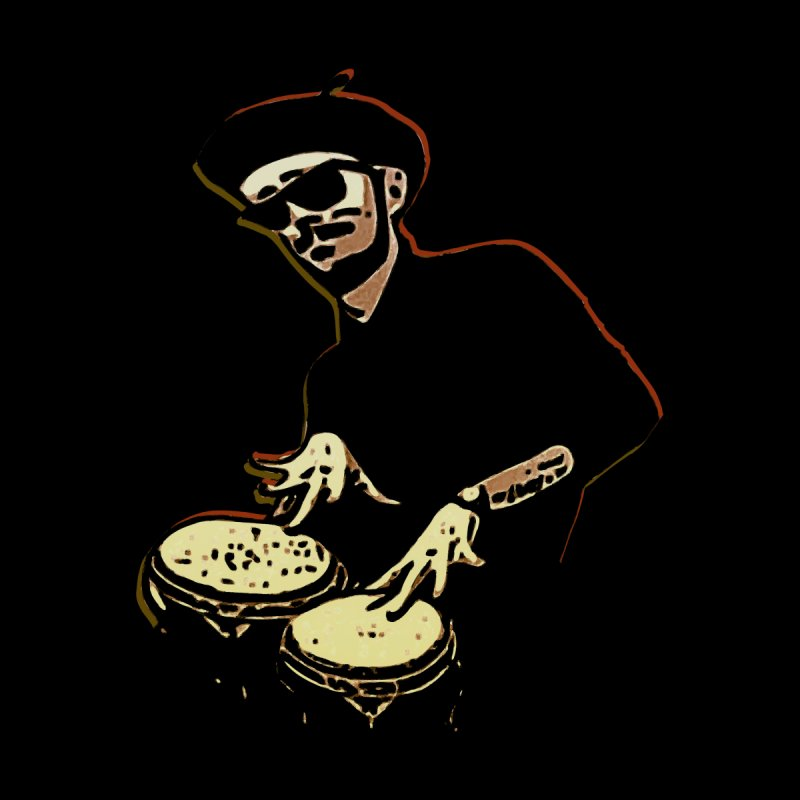 Bongo Beatin' Beatnik None  by funkymojo's Artist Shop