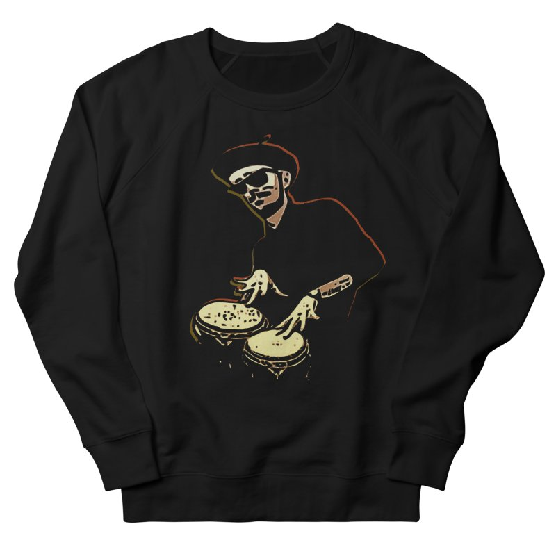 Bongo Beatin' Beatnik Men's Sweatshirt by funkymojo's Artist Shop