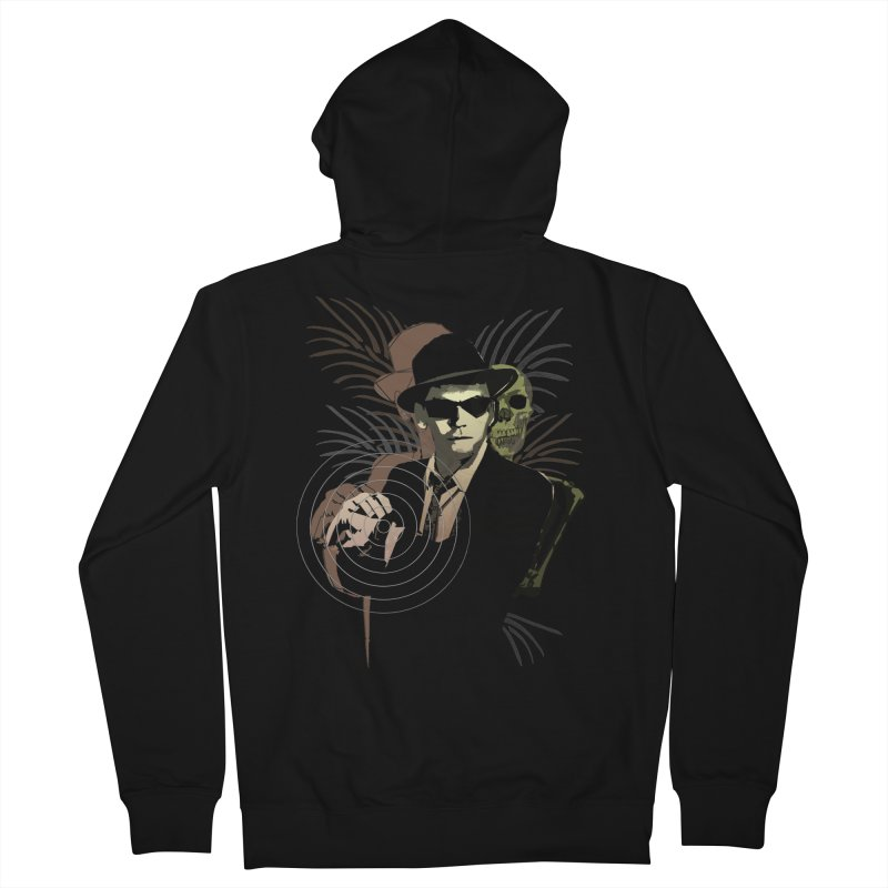 G-Man on Holiday Men's Zip-Up Hoody by funkymojo's Artist Shop