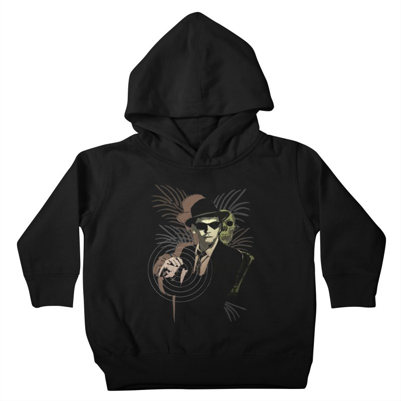 G-Man on Holiday Kids Toddler Pullover Hoody by funkymojo's Artist Shop
