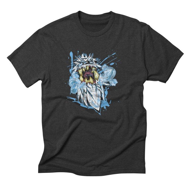 Ice Chips Men's Triblend T-Shirt by FunkyTurtle Artist Shop
