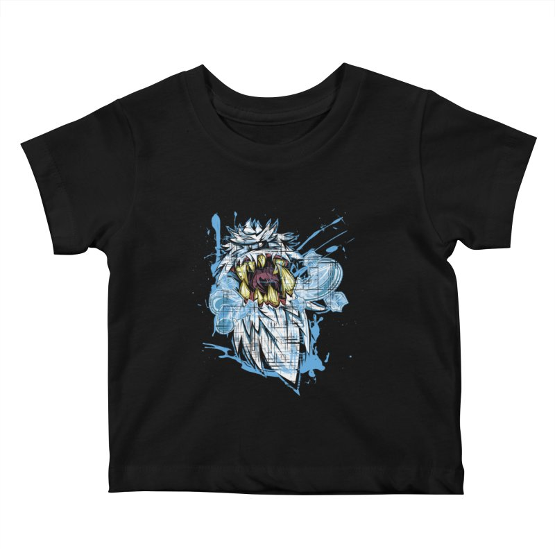 Ice Chips Kids Baby T-Shirt by FunkyTurtle Artist Shop