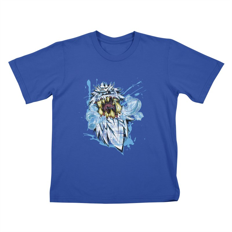 Ice Chips Kids T-shirt by FunkyTurtle Artist Shop