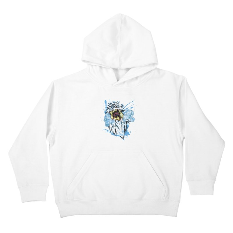 Ice Chips Kids Pullover Hoody by FunkyTurtle Artist Shop
