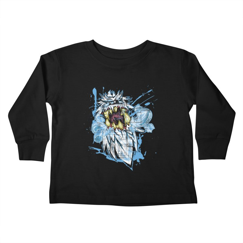 Ice Chips Kids Toddler Longsleeve T-Shirt by FunkyTurtle Artist Shop