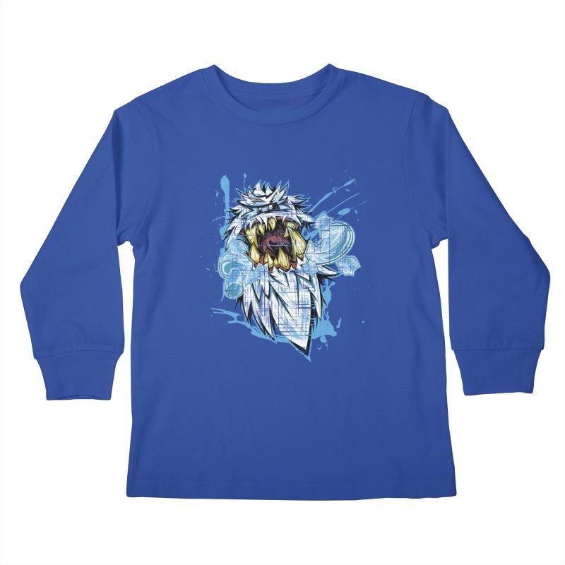 Ice Chips Kids Longsleeve T-Shirt by FunkyTurtle Artist Shop