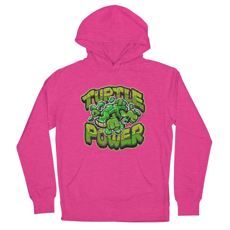 Turtle Power! Women's Pullover Hoody by FunkyTurtle Artist Shop