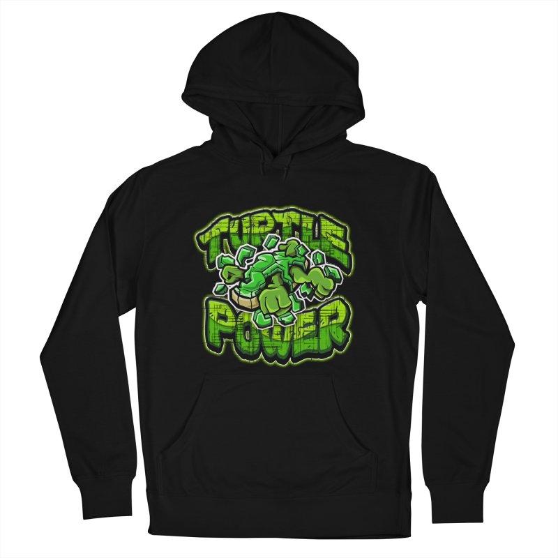 Turtle Power! Women's Pullover Hoody by FunkyTurtle Artist Shop