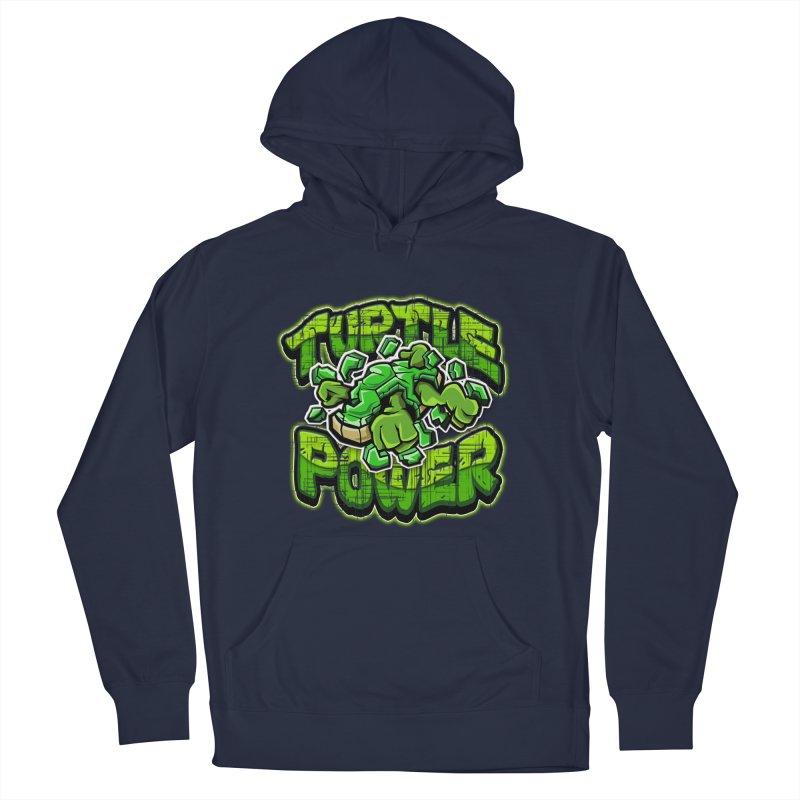Turtle Power! Men's Pullover Hoody by FunkyTurtle Artist Shop