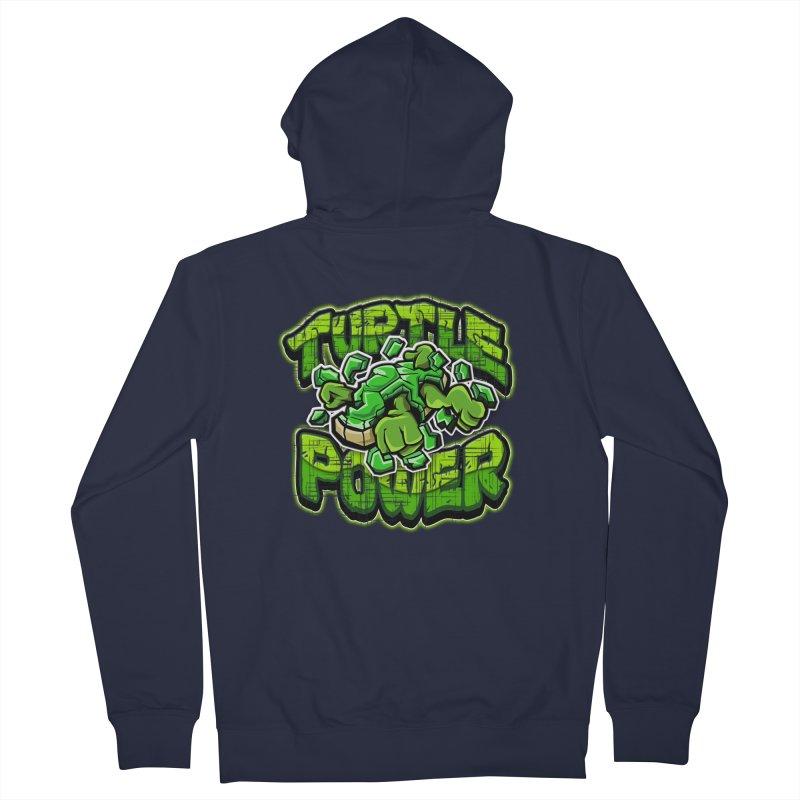 Turtle Power! Women's Zip-Up Hoody by FunkyTurtle Artist Shop