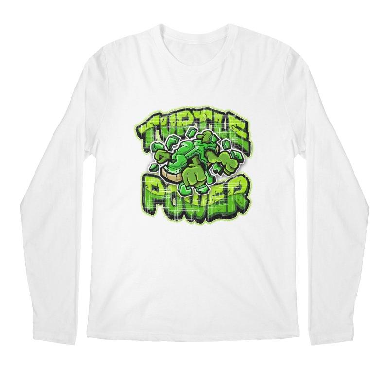 Turtle Power! Men's Longsleeve T-Shirt by FunkyTurtle Artist Shop