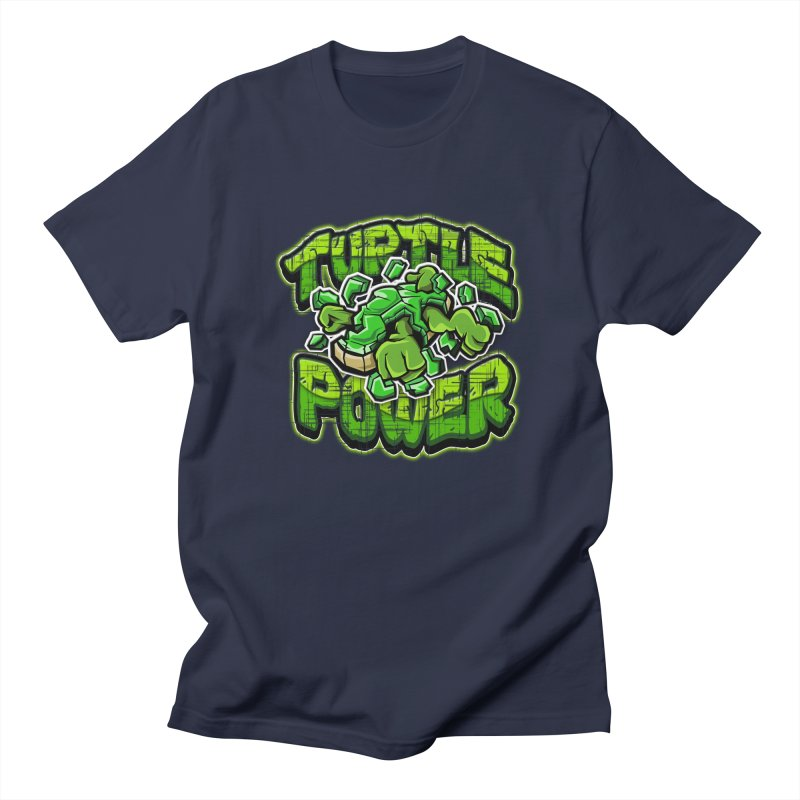 Turtle Power! Men's T-Shirt by FunkyTurtle Artist Shop