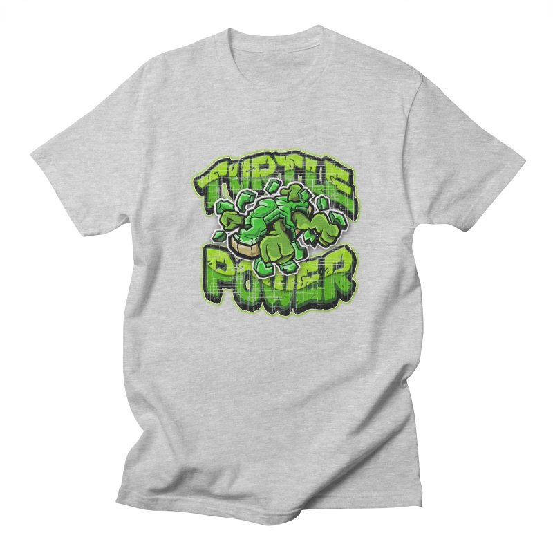 Turtle Power! Men's T-shirt by FunkyTurtle Artist Shop