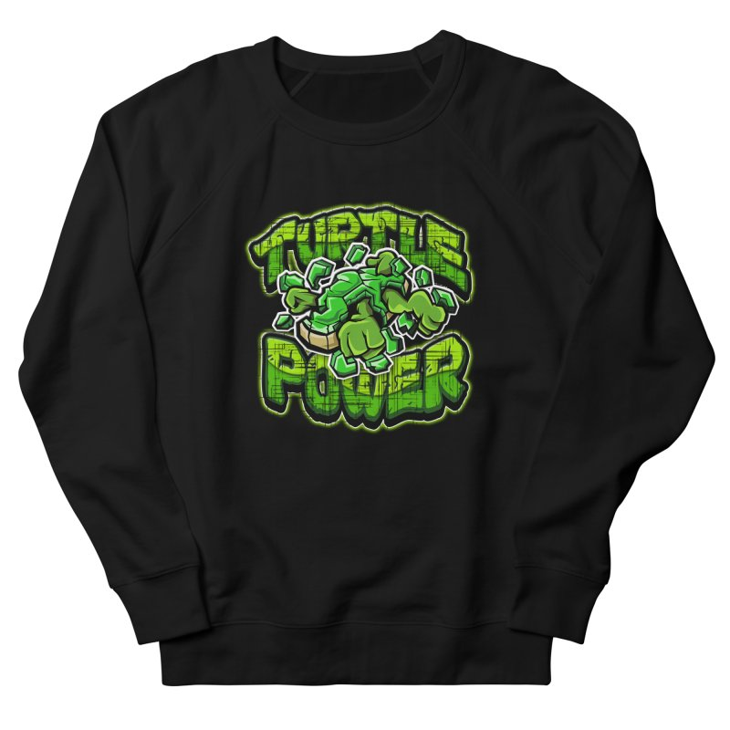 Turtle Power! Women's Sweatshirt by FunkyTurtle Artist Shop