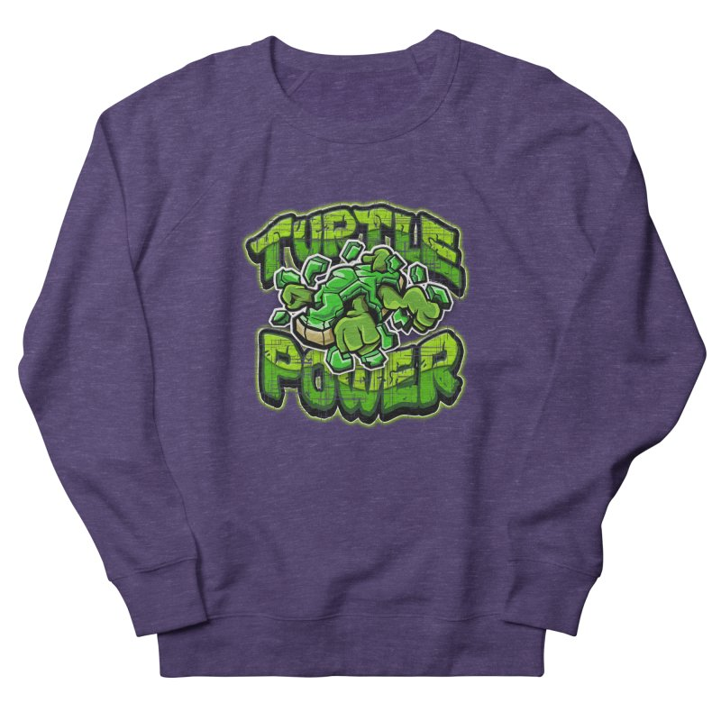 Turtle Power! Men's Sweatshirt by FunkyTurtle Artist Shop
