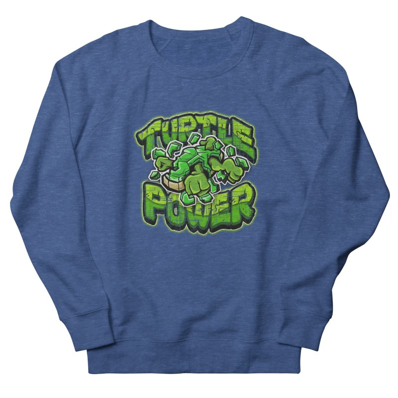 Turtle Power! Men's Sweatshirt by FunkyTurtle Artist Shop