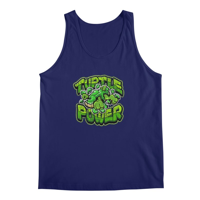 Turtle Power! Men's Tank by FunkyTurtle Artist Shop
