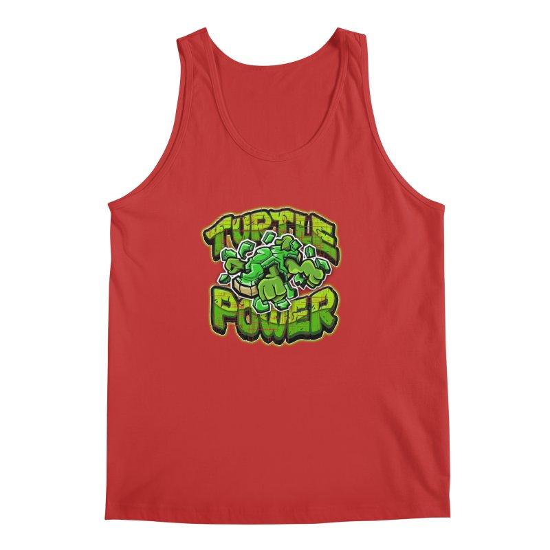 Turtle Power! Men's Tank by FunkyTurtle Artist Shop