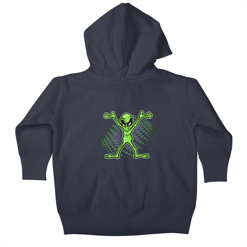 The Truth? Kids Baby Zip-Up Hoody by FunkyTurtle Artist Shop