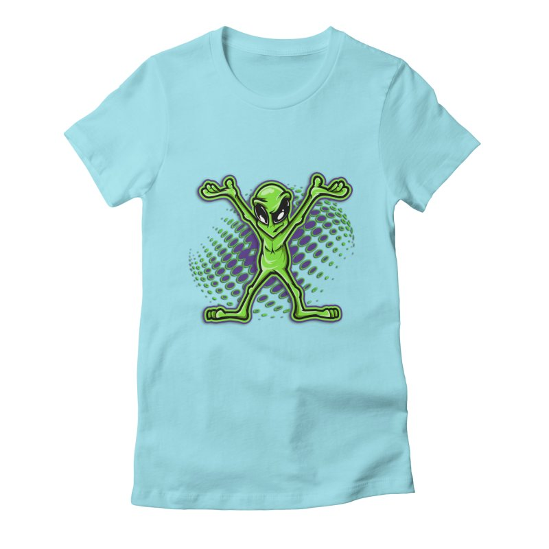The Truth? Women's Fitted T-Shirt by FunkyTurtle Artist Shop