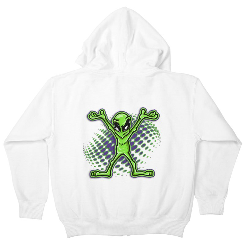 The Truth? Kids Zip-Up Hoody by FunkyTurtle Artist Shop