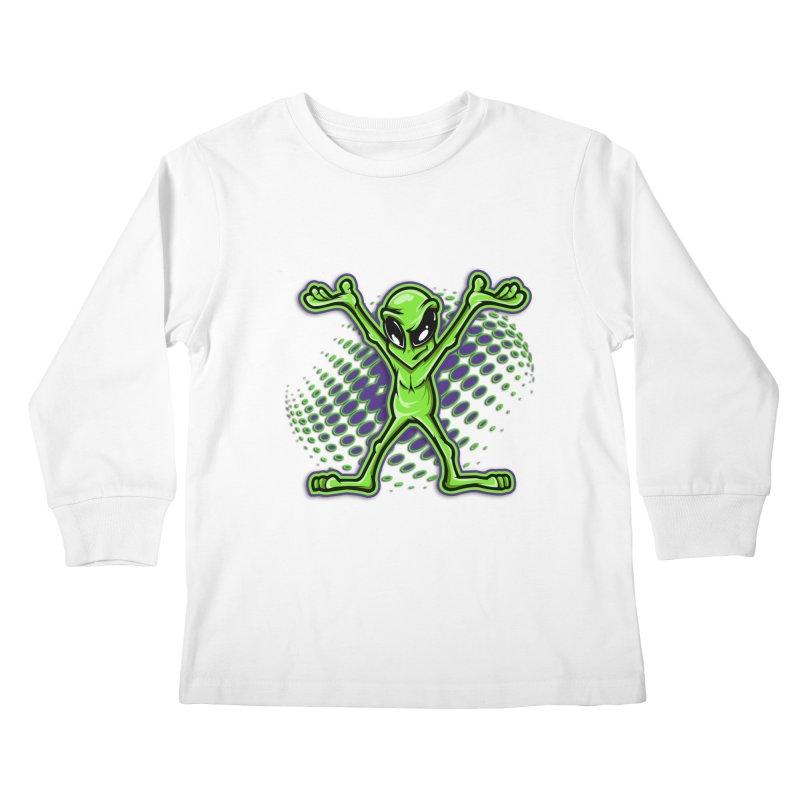 The Truth? Kids Longsleeve T-Shirt by FunkyTurtle Artist Shop